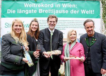 Weltrekord Brettljause Wien