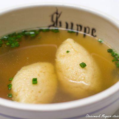 Grießnockerl Suppeneinlage