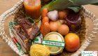 Süßer Hirseauflauf mit Apfelmus