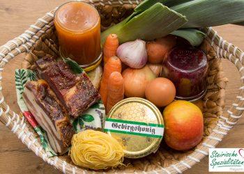 Lebensmittel Einkauf lagern