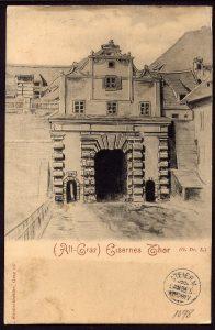 Graz historische Ansichtskarte