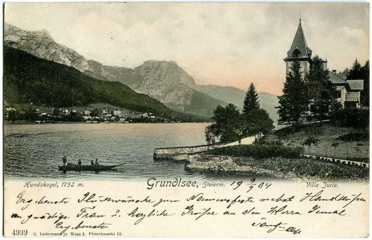 Grundlsee historische Ansichtskarte
