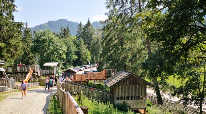 Ökopark Hochreiter: Kinder-Wasserspielplatz, heimische Tiere & Wald