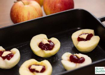 Einfacher Bratapfel
