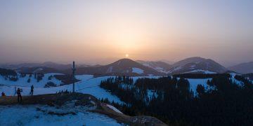 Sonnenuntergang Plankogel