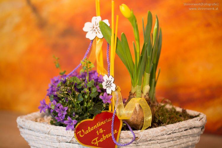 Blumen zum Valentinstag 14. Februar