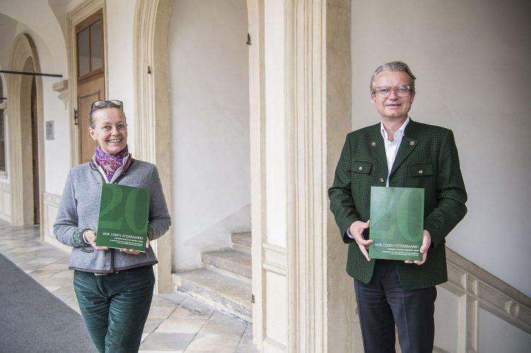 Volkskultur Publikation Wir leben Steiermark